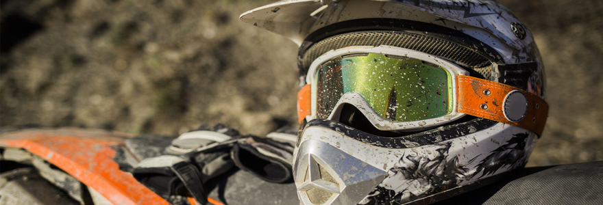 Achat d'équipement de motocross